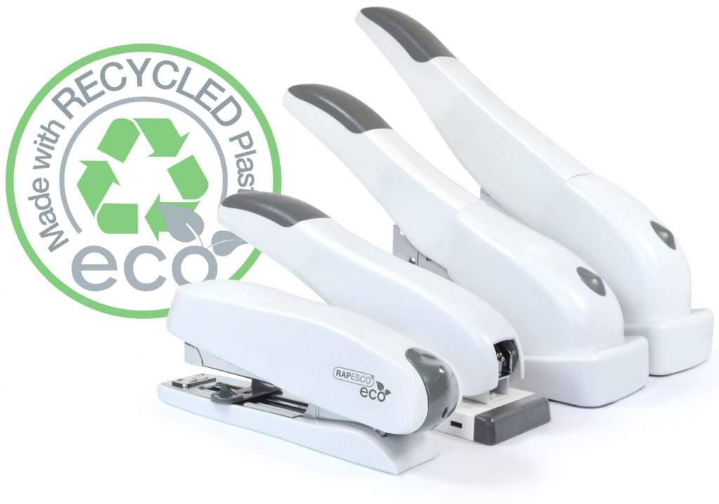Rapesco New Soft White Eco Staplers