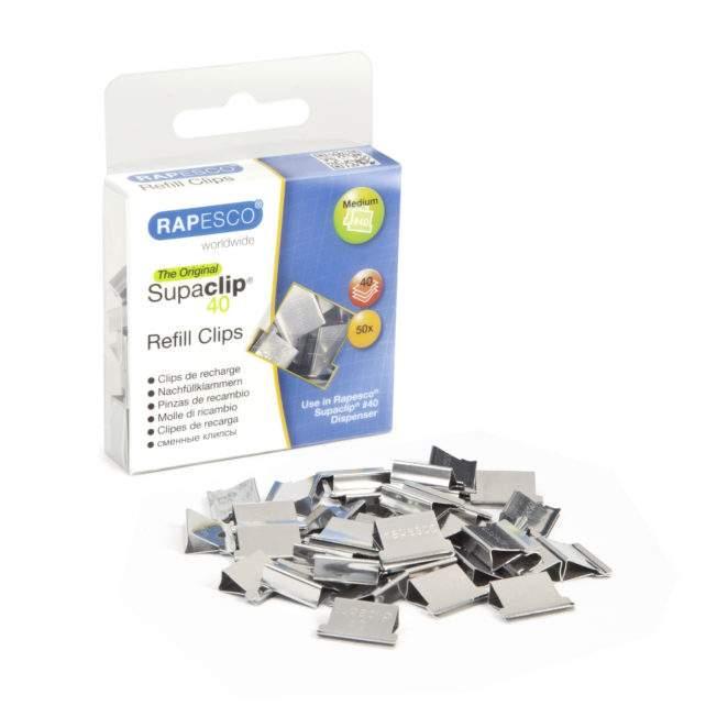 Supaclip #40 Refill Clips – steel