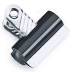 Heavy Duty Letter Clips Black
