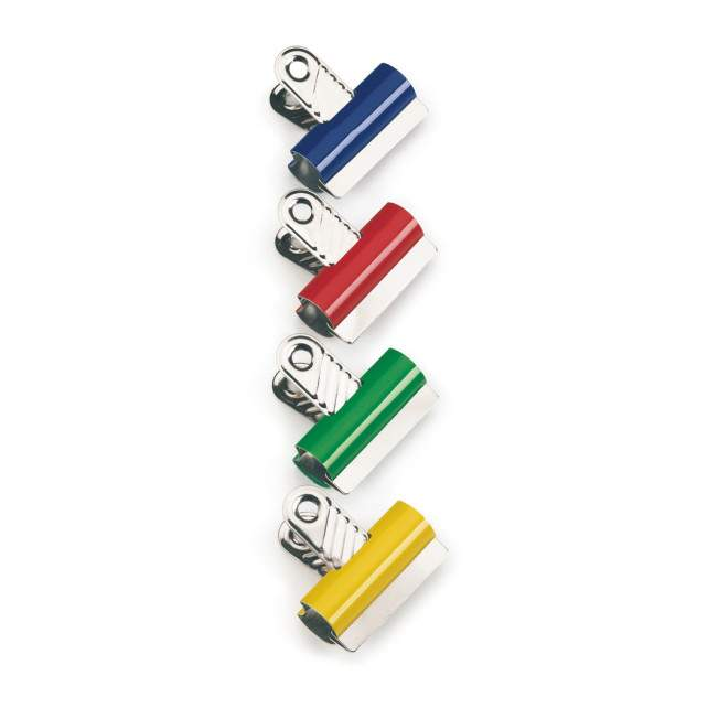 Coloured Letter Clips