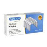 26/8mm Galvanised Staples (box of 5,000)
