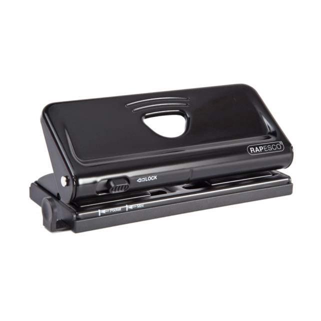 Adjustable 6-Hole Organiser/ Diary Punch (Black)