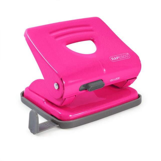 Hole Punch - 825 2-Hole - Hot Pink
