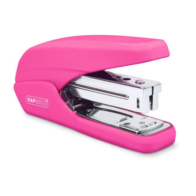 X5-25ps Less Effort Stapler (Hot Pink)