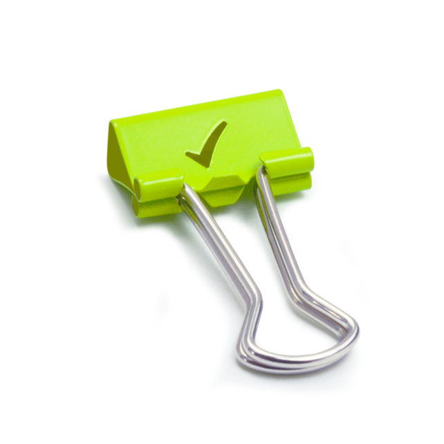 Foldback Clips Ticks - Green